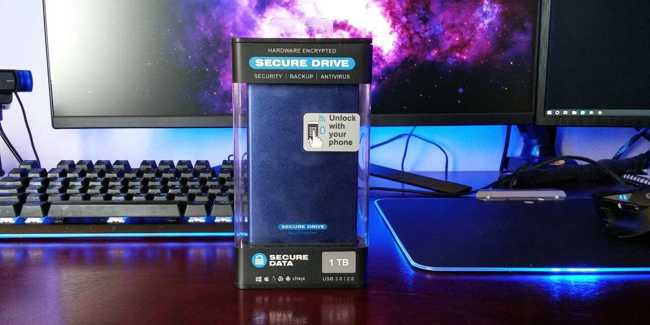 SECUREDATA Secure Drive BT – Encrypted 1TB SSD Review