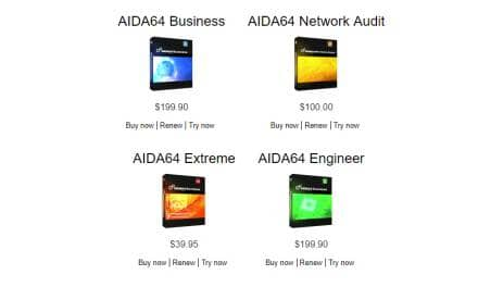 AIDA64 Updates To V6.00