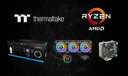 Thermaltake Cooling Solutions Back the Latest Powerful Processors