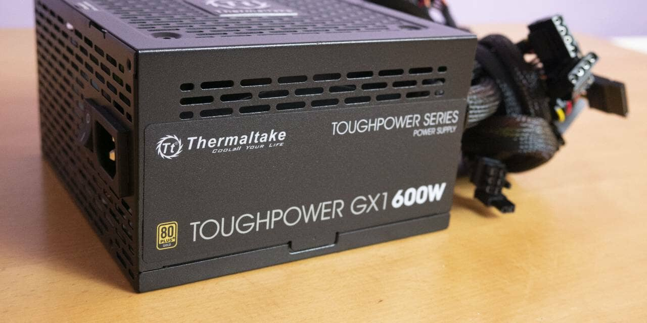 Thermaltake Toughpower GX1 600W 80PLUS Gold Power Supply Overview