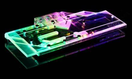 Alphacool Announces Eisblock Aurora GPX Graphics Card Cooler