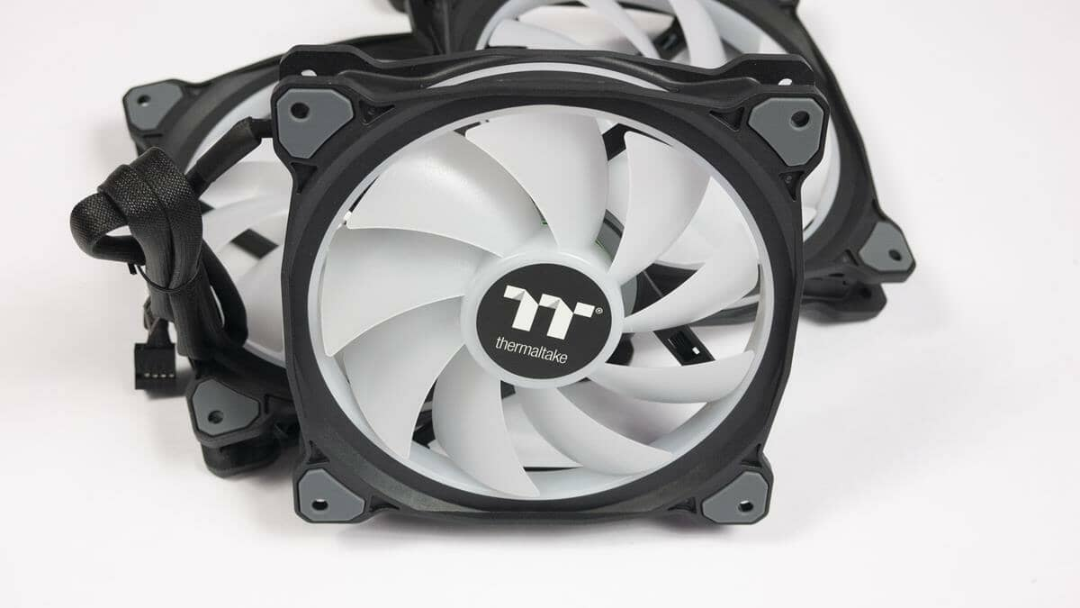 TT Premium Riing DUO 14 Radiator Fan Review
