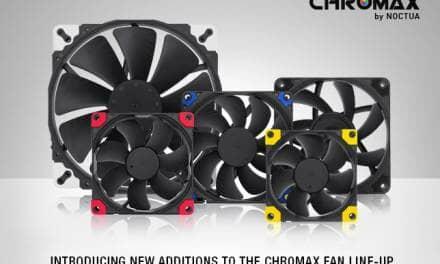 Noctua presents new chromax line fans and accessories