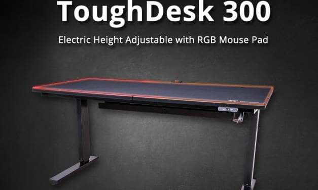 Thermaltake Announces ToughDesk 300 with Built-in RGB Mouse Pad and CyberChair E500 – CES 2020