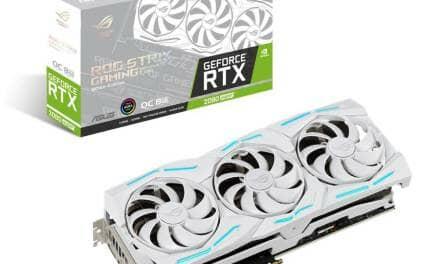 ASUS Republic of Gamers Announces Strix GeForce RTX 2080 SUPER White Edition