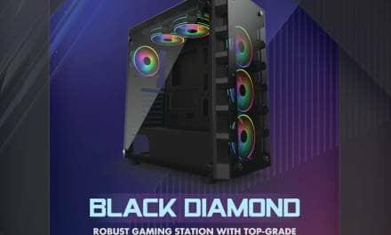 Gelid Releases New Black Diamond Case