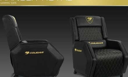 COUGAR Releases the Ranger Gaming Sofa for Royal Gaming Comfort