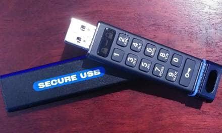 SECUREDATA – SecureUSB KP 8GB – Maximum Security on the GO