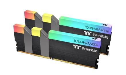 Thermaltake Releases New High Capacity Memory – TOUGHRAM RGB 32GB and 64GB Memory