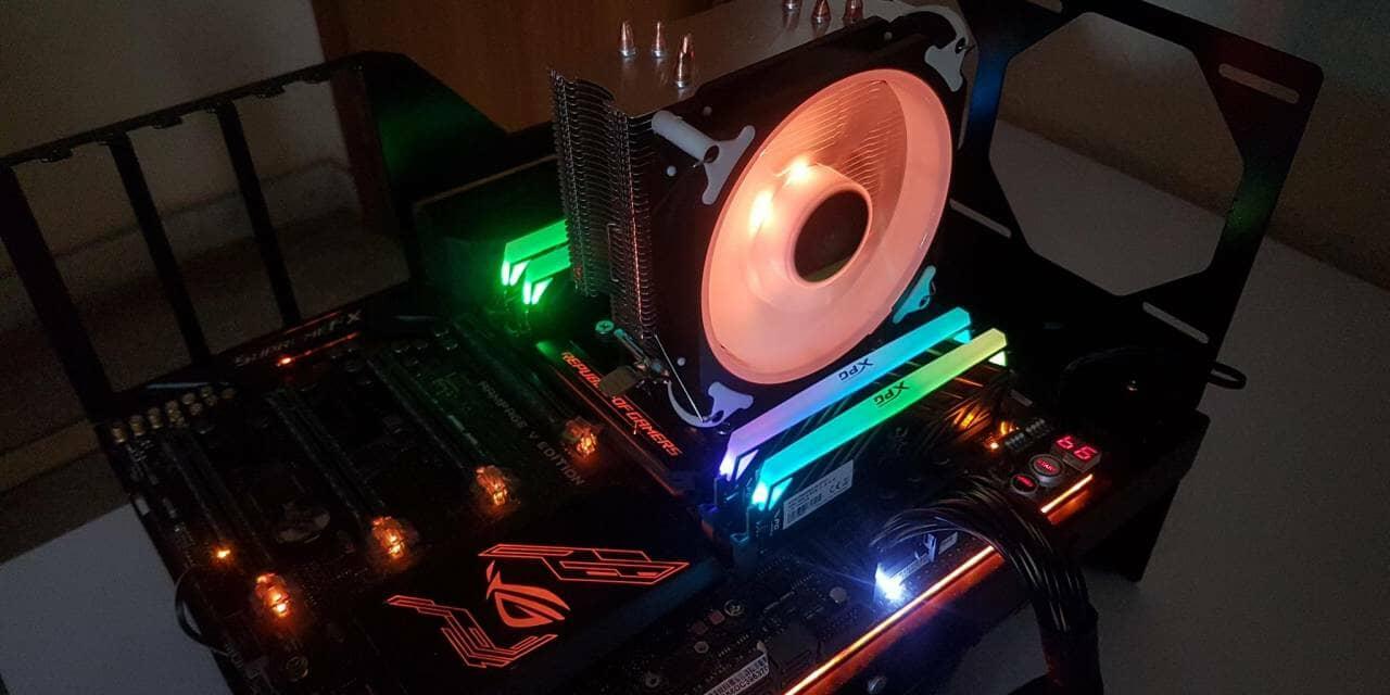 SilverStone AR12-RGB CPU Air Cooler Review