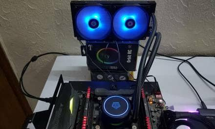 ID-COOLING AURAFLOW X 240 CPU Cooler Review