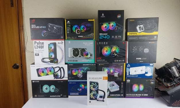Best 240mm CLC/AIO Coolers 2021 with in-depth testing