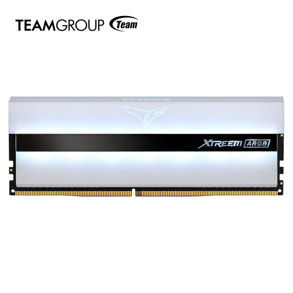 TEAMGROUP Launches XTREEM ARGB WHITE GAMING MEMORY and DELTA MAX WHITE RGB SSD