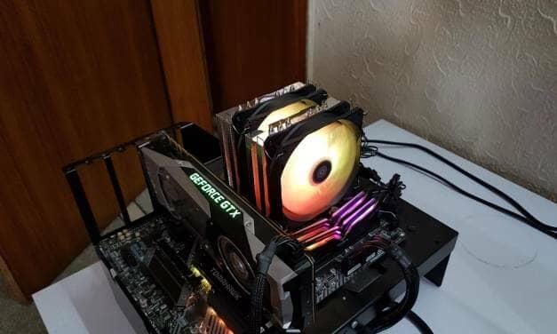 SilverStone Hydrogon 120 A-RGB CPU Air Cooler Review