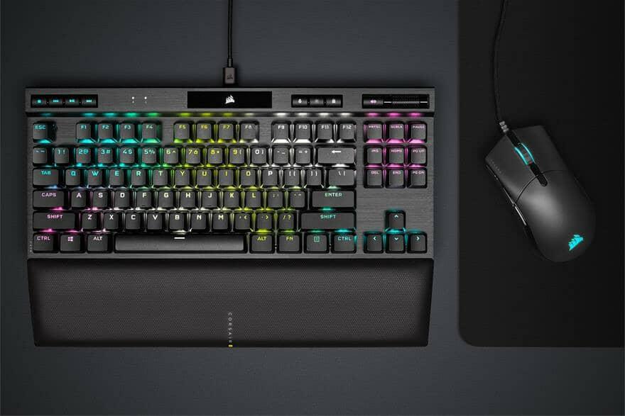 Introducing the CORSAIR K70 RGB TKL Gaming Keyboard and SABRE PRO Gaming Mice