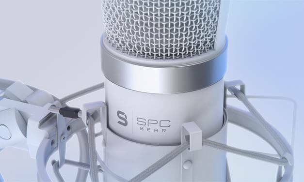 SPC Gear Announces Streaming Microphone SM950 ONYX White – Your New Mic?
