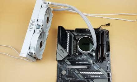 PCCOOLER GI-CX240 White A-RGB Cooler Review