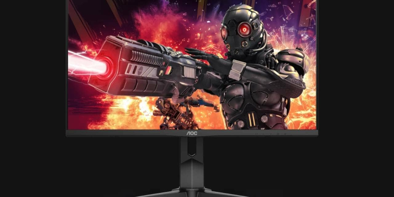 AOC launches 4K gaming monitor U28G2XU with 144 Hz and 1 ms