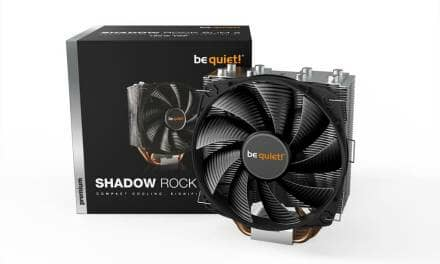 be quiet! Introduces Improved Shadow Rock Slim 2 CPU Cooler
