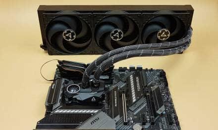 ARCTIC Liquid Freezer – II 420 CPU Liquid Cooler Review
