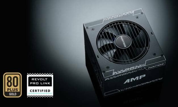 Phanteks Releases New AMP 850W and AMP 1000W 80Plus Gold Power Supplies