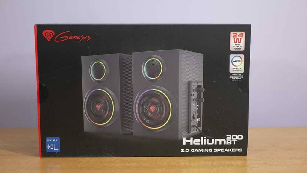 Genesis Helium 300BT Gaming Spakers Box