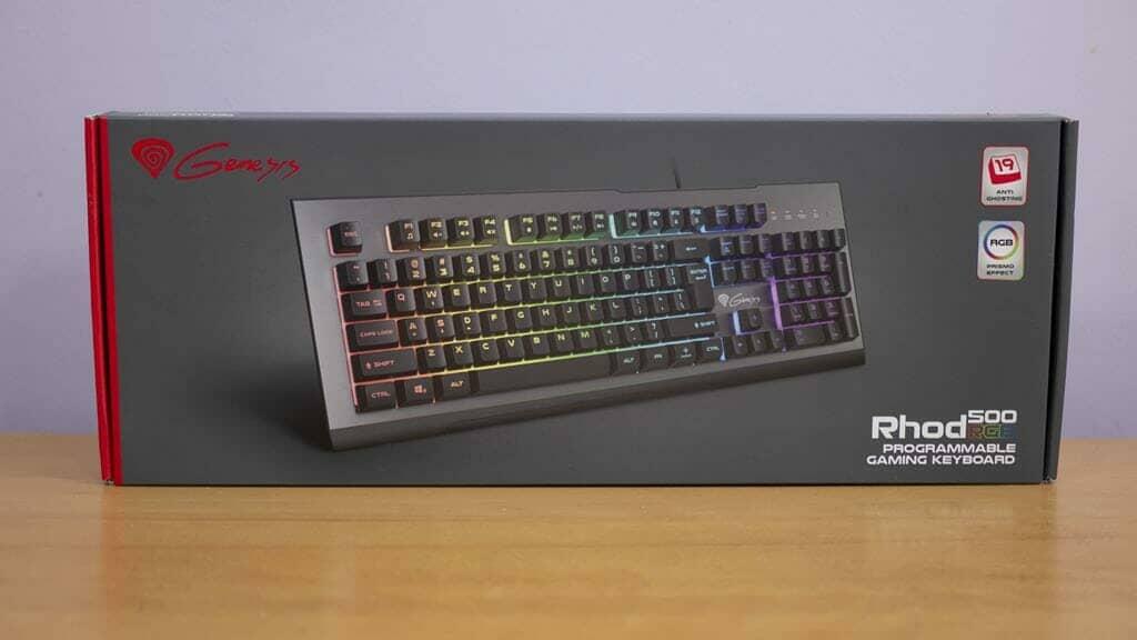 Genesis Rhode 500RGB Gaming Keyboard Box Front