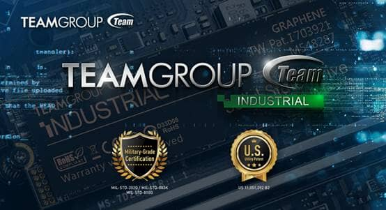 All TEAMGROUP Industrial Products Pass Military-Grade Certification