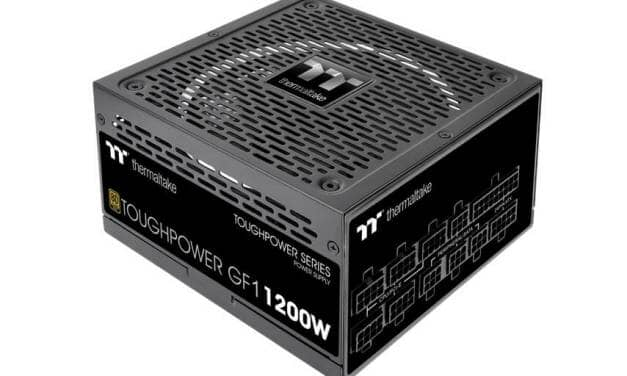 Thermaltake Releases Toughpower GF1 1000/1200W Gold Power Supply