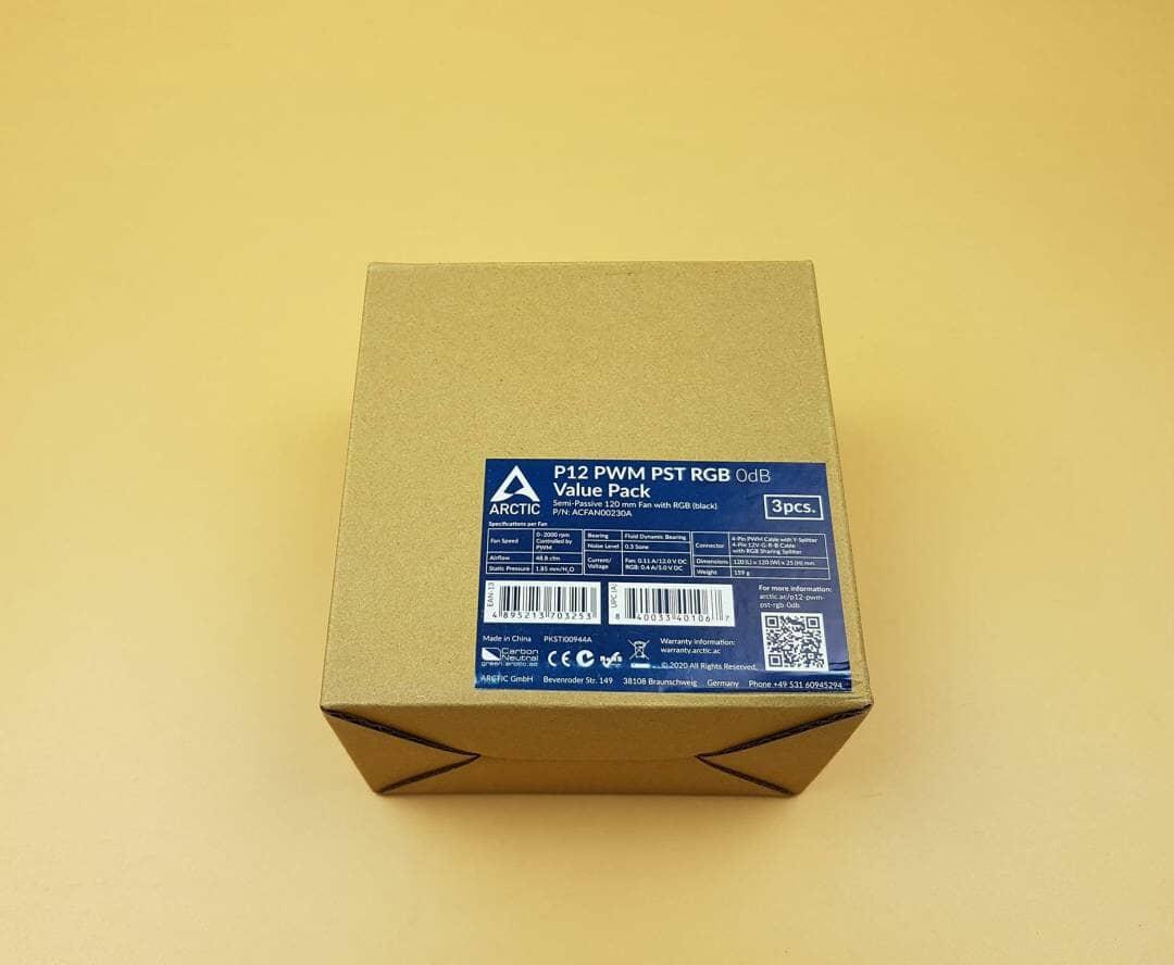 ARCTIC P12 PWM PST RGB Box