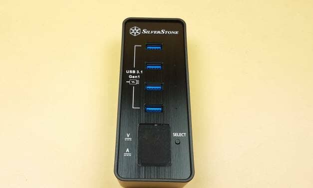 SilverStone EP03B Multi-Port Fast Charging and Data Connectivity Hub Review