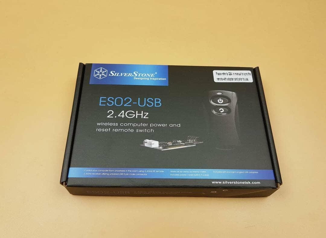 SilverStone ES02-USB Packaging