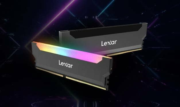 Lexar Announces a New Family of Gaming DRAM to its Portfolio