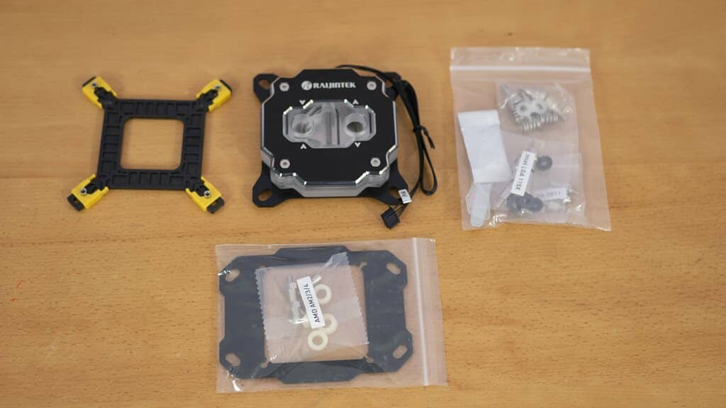 Raijintek Forkis Pro RBW accessories