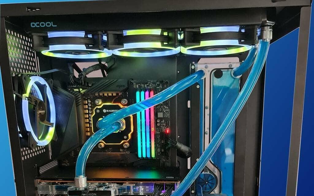 Raijintek Forkis Pro RBW CPU Water Block Review