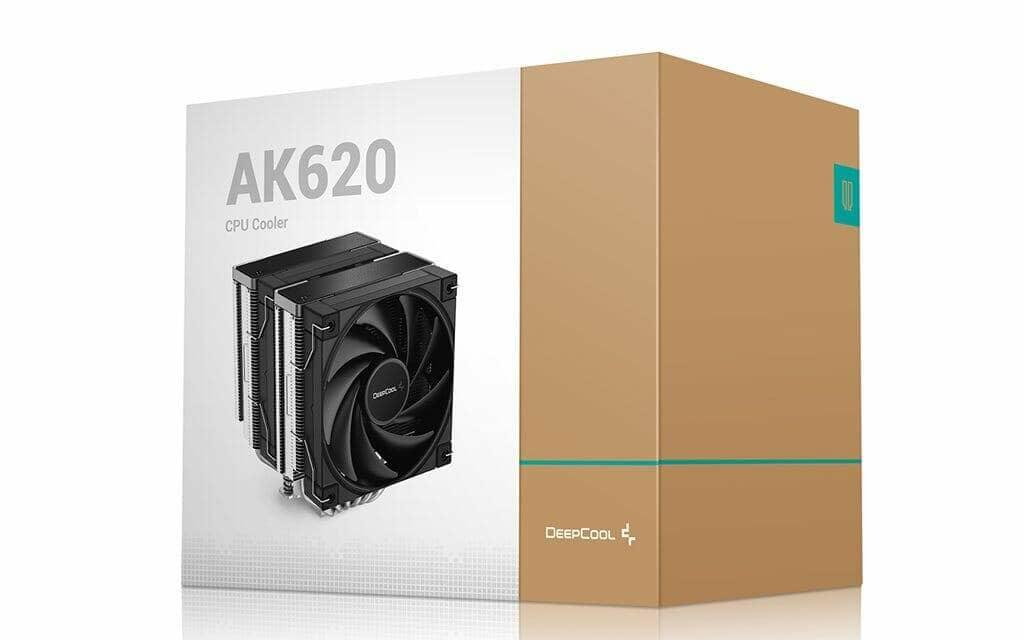 DeepCool Announces The AK620 High Performance CPU Cooler