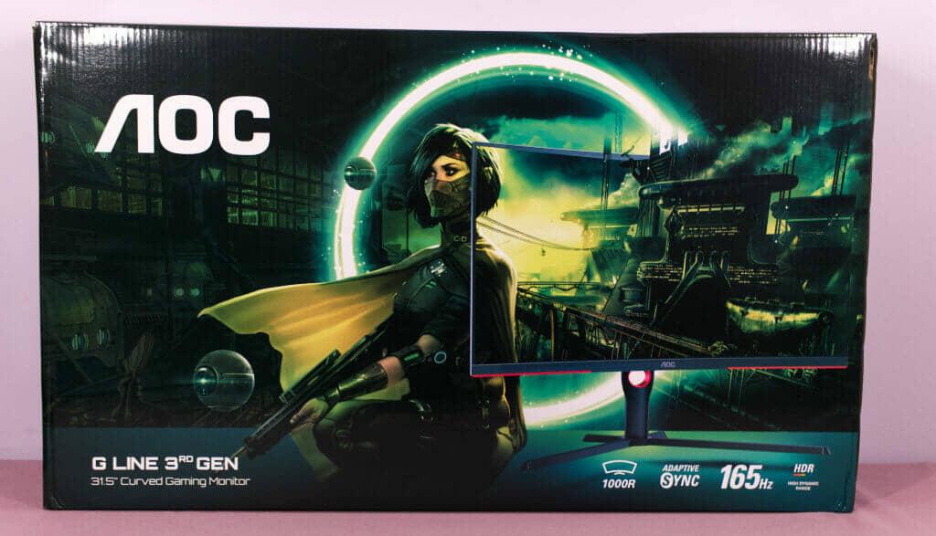 AOC CQ32G3SU box