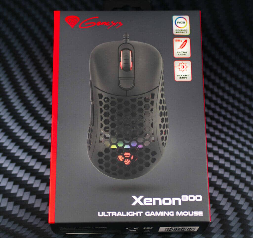Genesis Xenon 800 Mouse box front