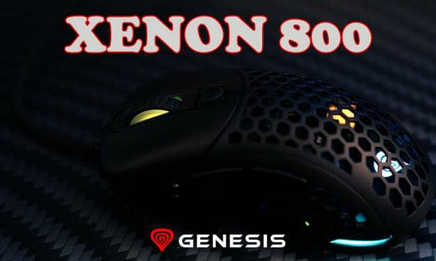 Genesis Xenon 800 Ultralight Gaming Mouse Review