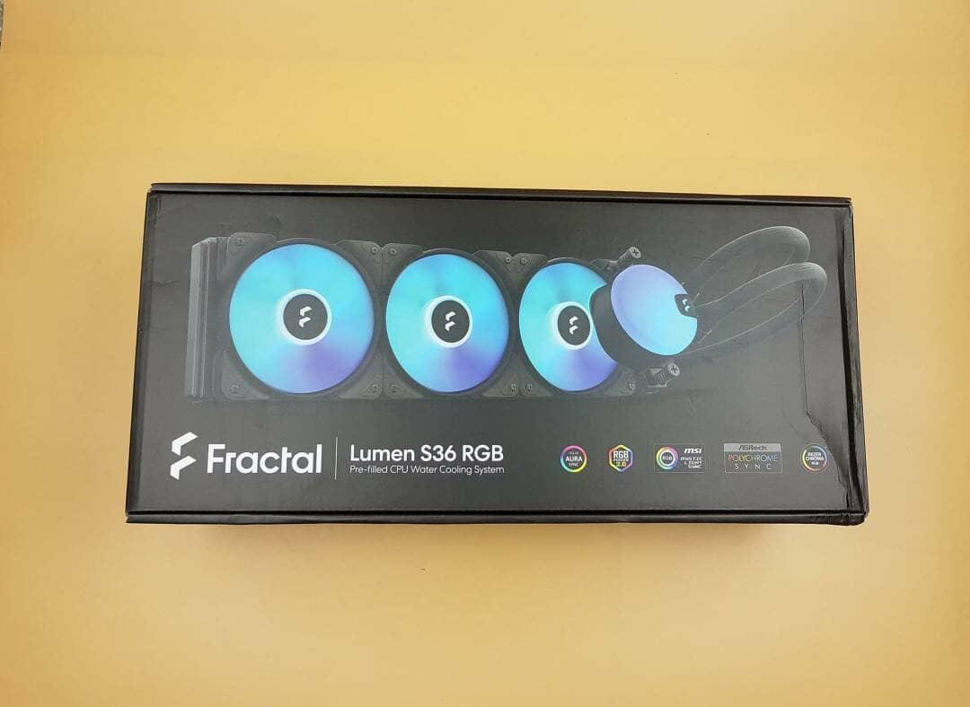 Lumen S36 RGB box front