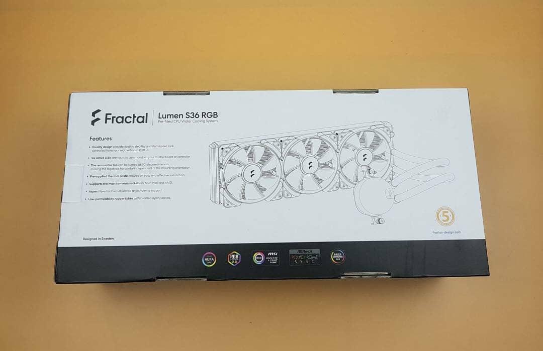 Lumen S36 RGB box rear
