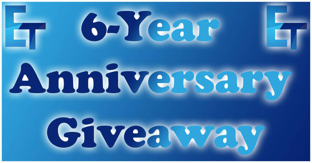 6-Year Anniversary Giveaway!