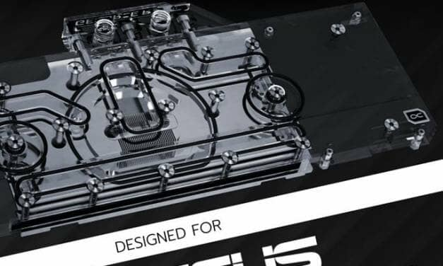 Alphacool Water Cooled GPU Block for ASUS Turbo RTX 3080/3090