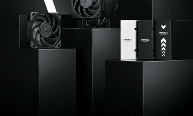 Noctua presents chromax line NF-A12x25 fan, NH-U12A cooler and heatsink covers